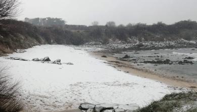 Surf report FR, La Mauvaise Grève (29) du 2021-02-09 17:00:00