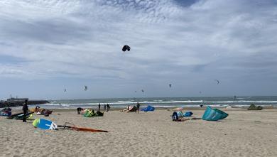 Wind Report FR Cap-d'Agde - Plage Richelieu le 2021-05-09 14:00:00