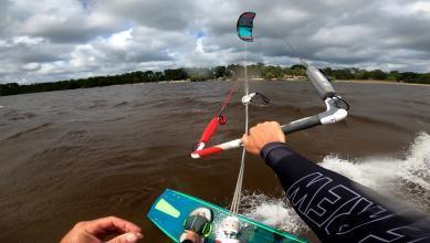 Wind report FR, Lacanau Lac (33)