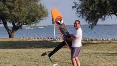 Wind report FR, Taussat - Club Nautique (33)